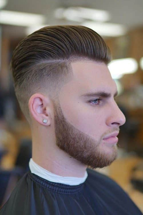 Effortless Pompadour #midfade #fadehaircut #pompadour