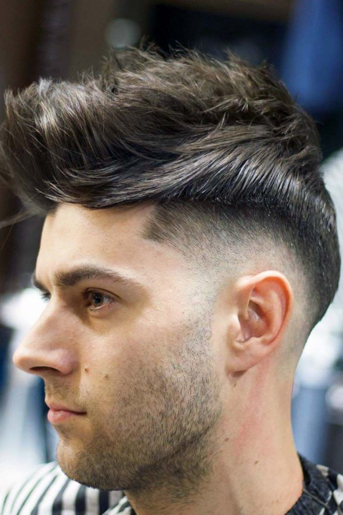 The Medium Fade Haircut #fade #fadehaircut #midfade
