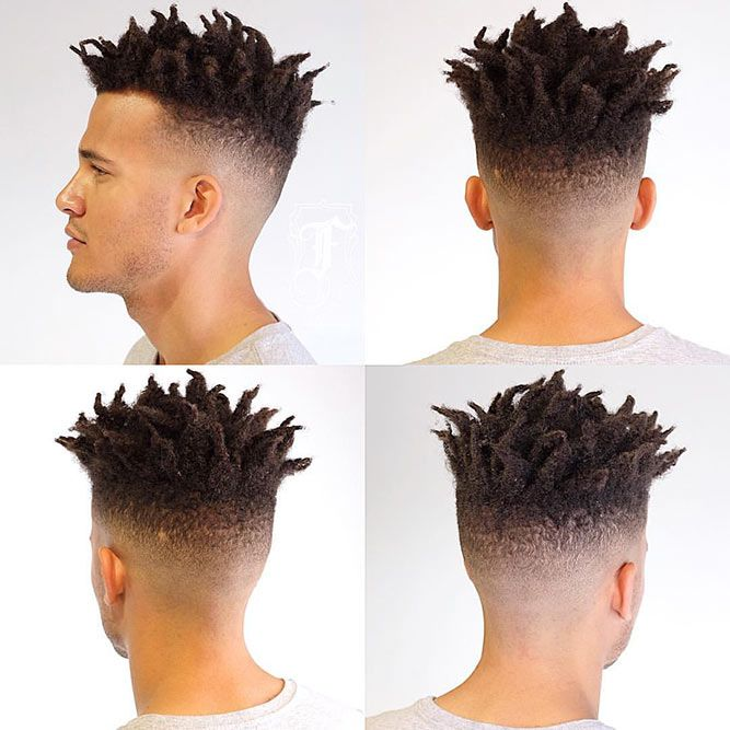 Medium Fade With Dreads #dreadlocks #dreads #fade #fadehaircut #midfade