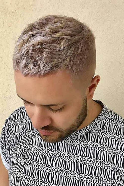 Mid Fade Haircut With Short Wavy Top #midfade #fadehaircut #texturedhair