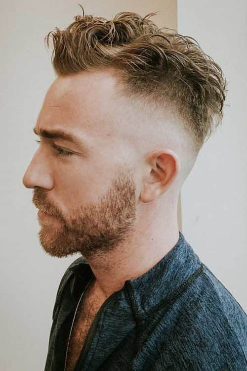 Mid Fade Haircut With Textured Top #midfade #fadehaircut #texturedtop