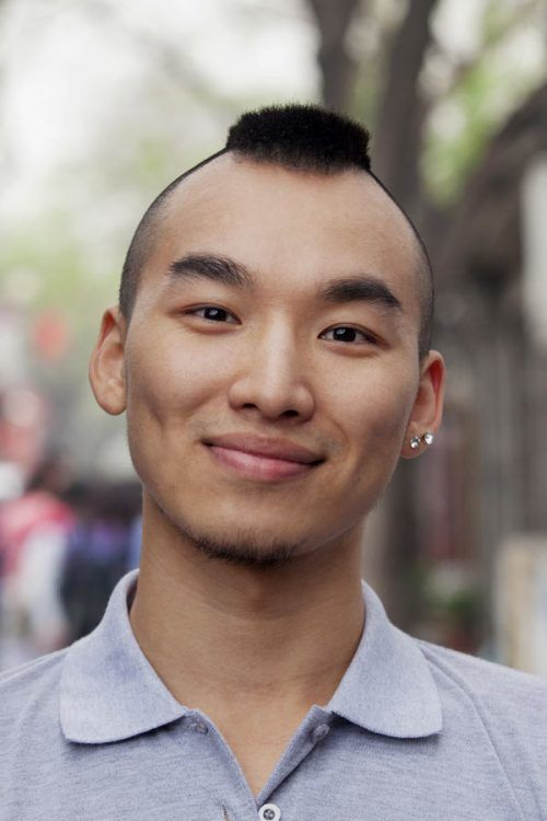 Mohawk For Asian Men #mohawk #mohawkhaircut