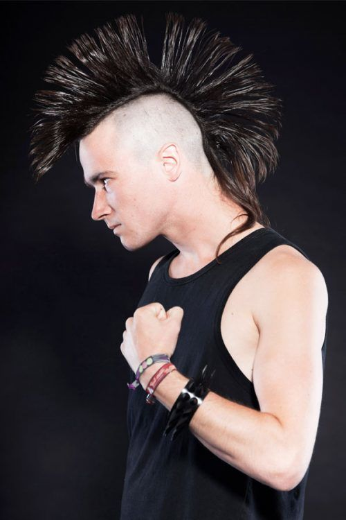 Long Hair Mohawk #mohawk #mohawkhaircut