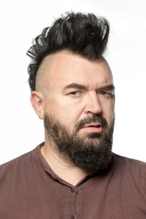 Mohawk Haircut With Beard #mohawk #mohawkhaircut