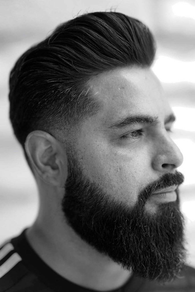 Taper Haircut And Long Beard #taper #fade #taperfade