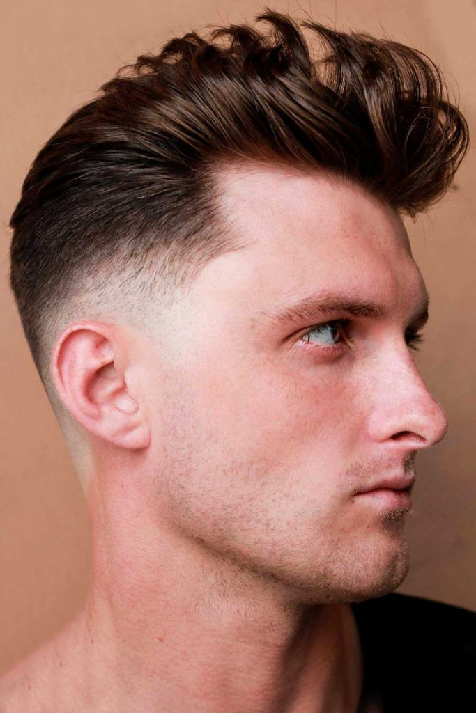 The Tapered Pompadour #taper #taperhaircut #taperfade #fade #fadehaircut
