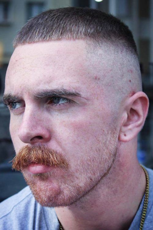 The Chevron Mustache #mustache #moustache #mustachestyles #facialhair