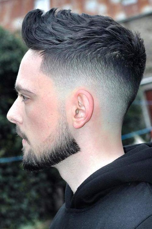 Longer Crew Cut #undercut #undercutfade #fadehaircut