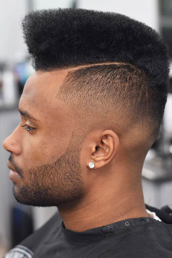 Flat Top With An Undercut #blackmenhaircuts #haircutsforblackmen #afrohair