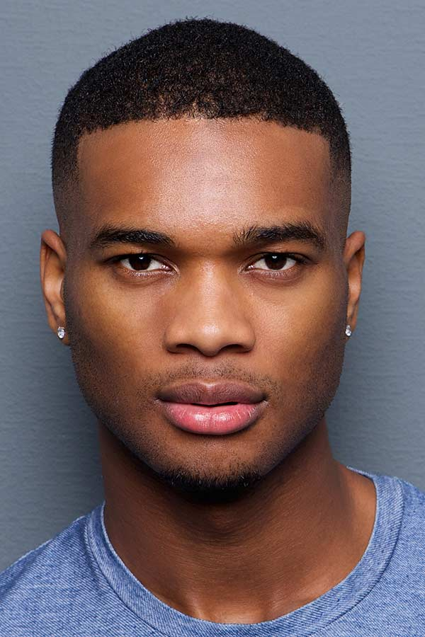 Clean Short Haircut #blackmenhaircuts #haircutsforblackmen #afrohair