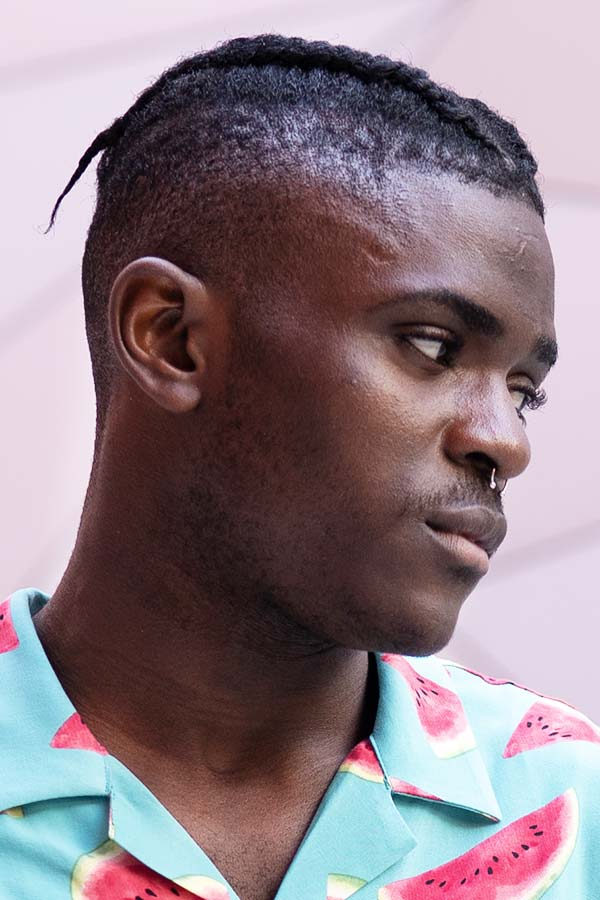 Afro Cornrows #undercut #disconnectedundercut #mensundercut