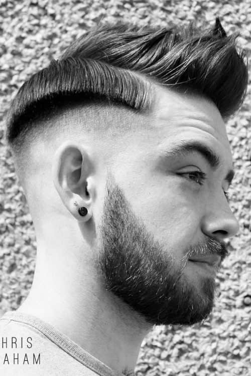 Disconnected Comb Over Style #combover #baldfade #disconnectedundercut