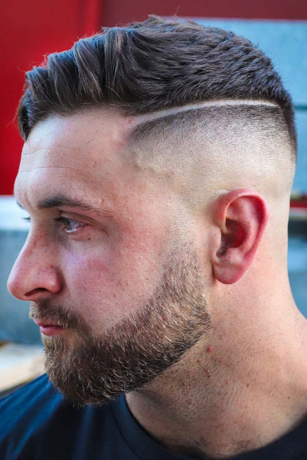 Hard Part Disconnected Haircut #hardpart #undercut #disconnectedundercut #mensundercut