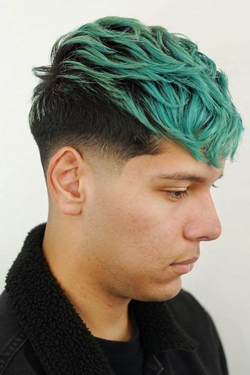 Two-Toned Undercut #undercut #disconnectedundercut #mensundercut