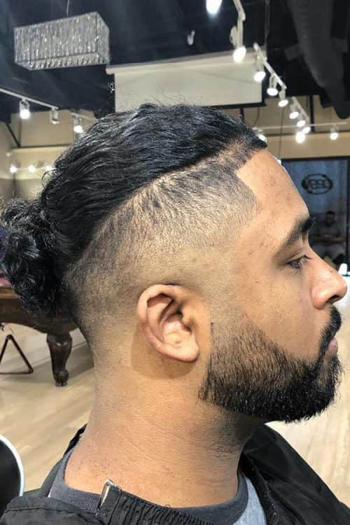 How To Style A Disconnected Undercut #manbun #skinfadehaircut #disconnectedundercut