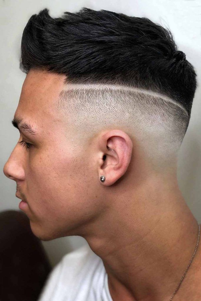 Hard Part With Quiff Top #undercut #disconnectedundercut #undercutfade