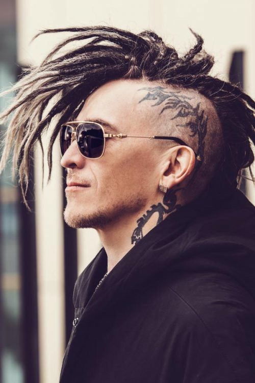 Tattooed Sides #dreadlocks #dreads #locks