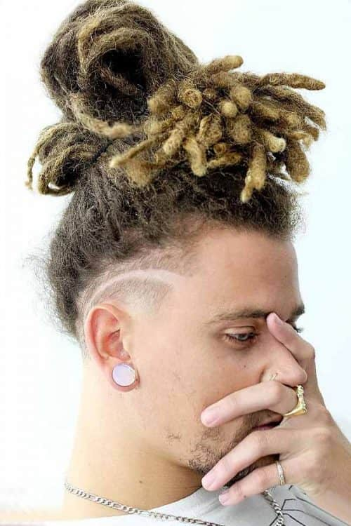 Dyed Dreads #undercut #dreadlocks #dreads