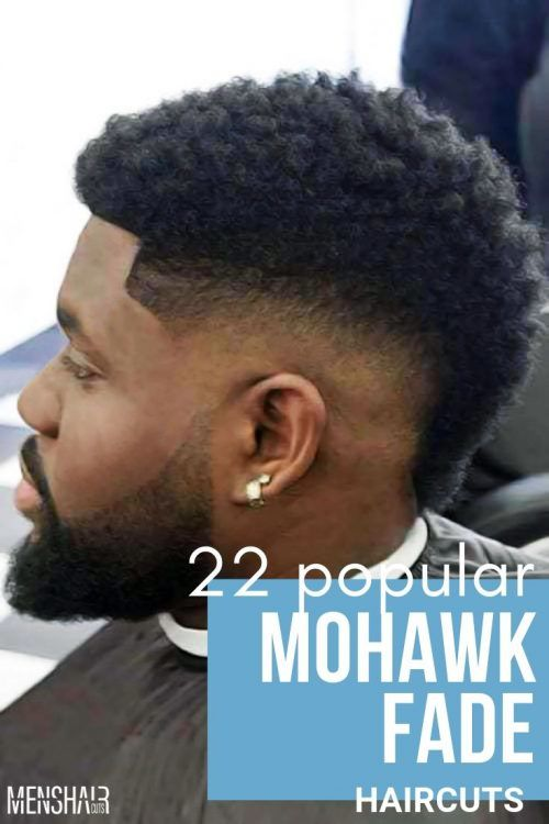 Mohawk Fade Haircut Awesome Blending Of Two Popular Styles