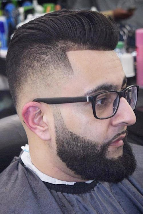 Arabic High Top Fade Style #highflattop #hightopfade #haircuts