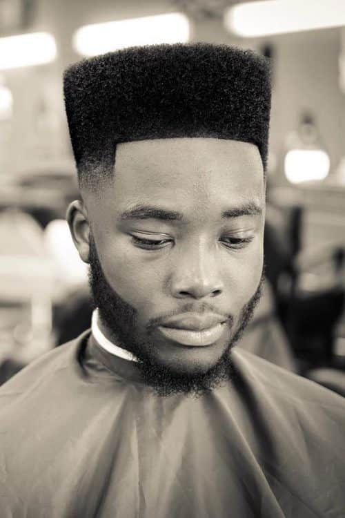 Line Up High Top Fade #highflattop #hightopfade