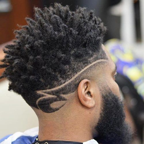 High Top With Sponge Twists #highflattop #hightopfade #haircuts
