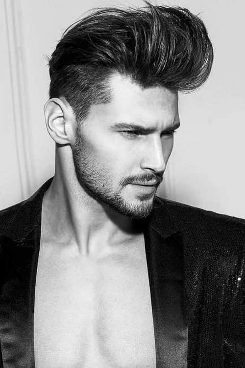 How To Get Slick Back Hair #taperhaircut #pompadour #slickbackhair #slickedbackhair