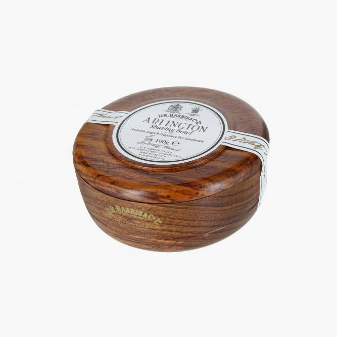 Mahogany Shaving Bowl & Shaving Soap (DR Harris) #beardproducts #beard #howtotrimabeard