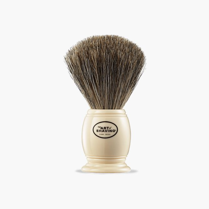Mens Pure Badger Shaving Brush Ivory (The Art Of Shaving ) #beardproducts #beard #howtotrimabeard