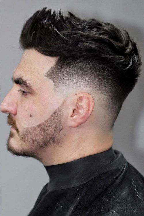 Textured High Mohawk #mohawkfade #menhaircuts