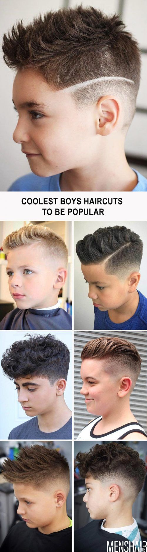 The Coolest Boys Haircuts That Will Show Off Your Kids Good Taste