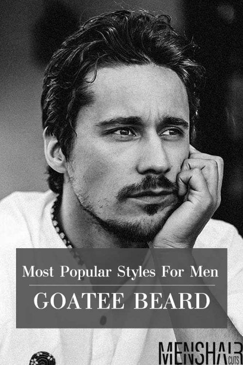 Goatee Beard The Guide With 15 Most Popular Styles For Men