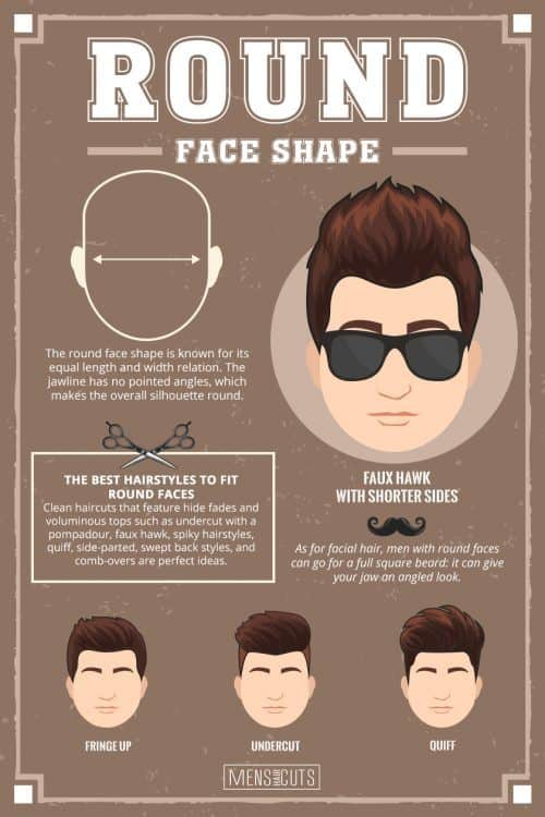 Hairstyles For Round Faces #faceshapes