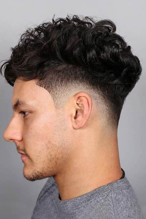 Curly Hair Fade #curlyhairfade #fadehaircut #fadehair #shorthaircutsforcurlyhair