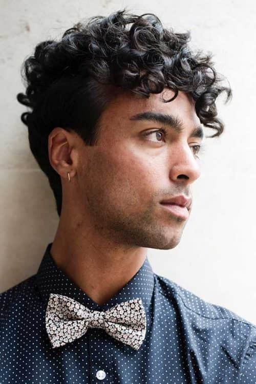 Hairstyles For Men With Curly Hair Long 54