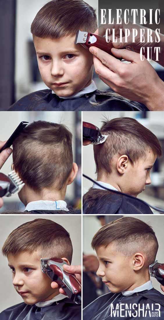 Using Electric Clippers #boyshaircuts #haircutsforboys #howtocutboys