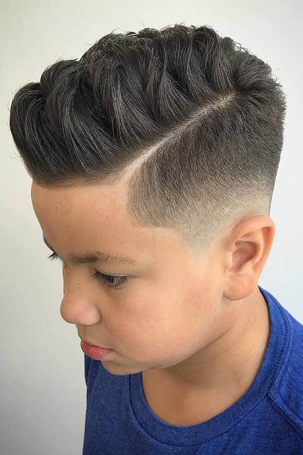 Classy Comb Over #combover #comboverfade #sidepart #boyshaircuts