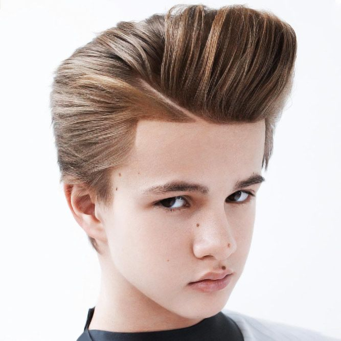 Awesome Pompadour #boyshaircuts