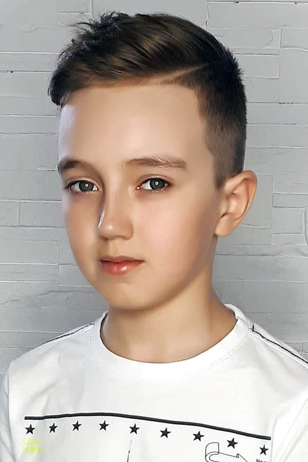 Accentuated Side Part #sidepart #boyshaircuts #haircutsforboys