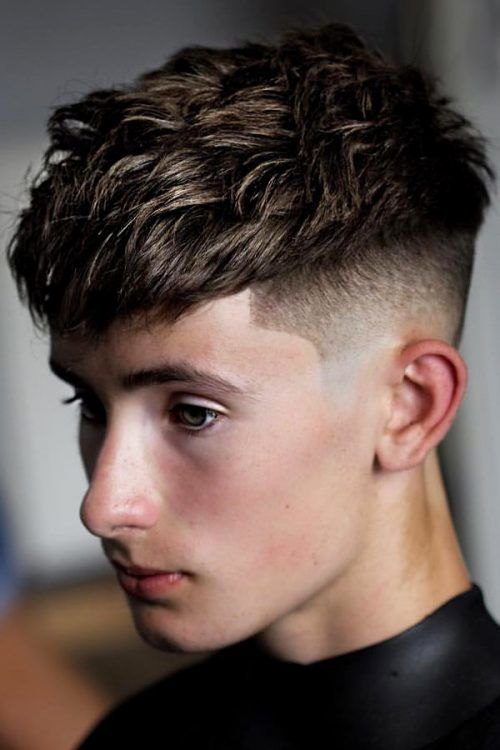 Classic French With High Fade  #boyshaircuts #haircutsforboys