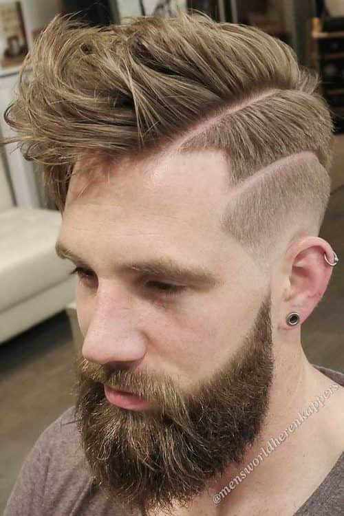 How To Cut The Hard Part #hardpart #hardparthaircut #sidepart #fade