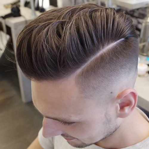 High Fade With Hard Part #hardpart #hardparthaircut #haircuts