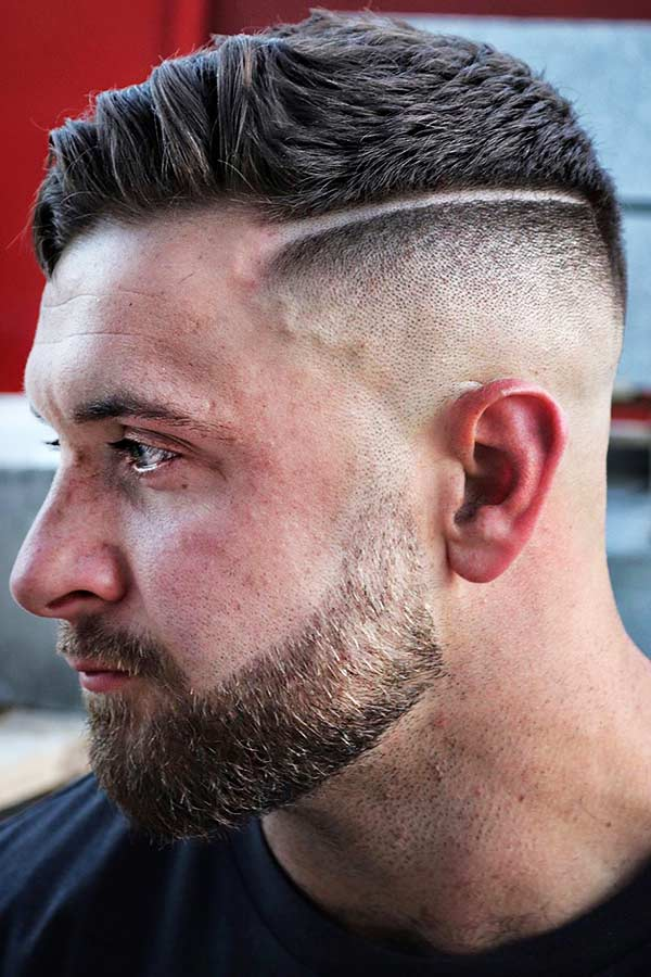 Undercut Hard Part #undercut #fade #hardpart #hardparthaircut