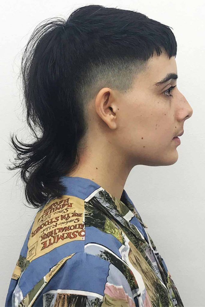 How To Style Mullet Haircut #mullet #mullethaircut #rattail