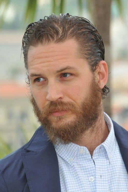 Alfie Solomons Haircut – Brushed Back Hair And Beard #slickbackhair #tomhardy #peakyblinders