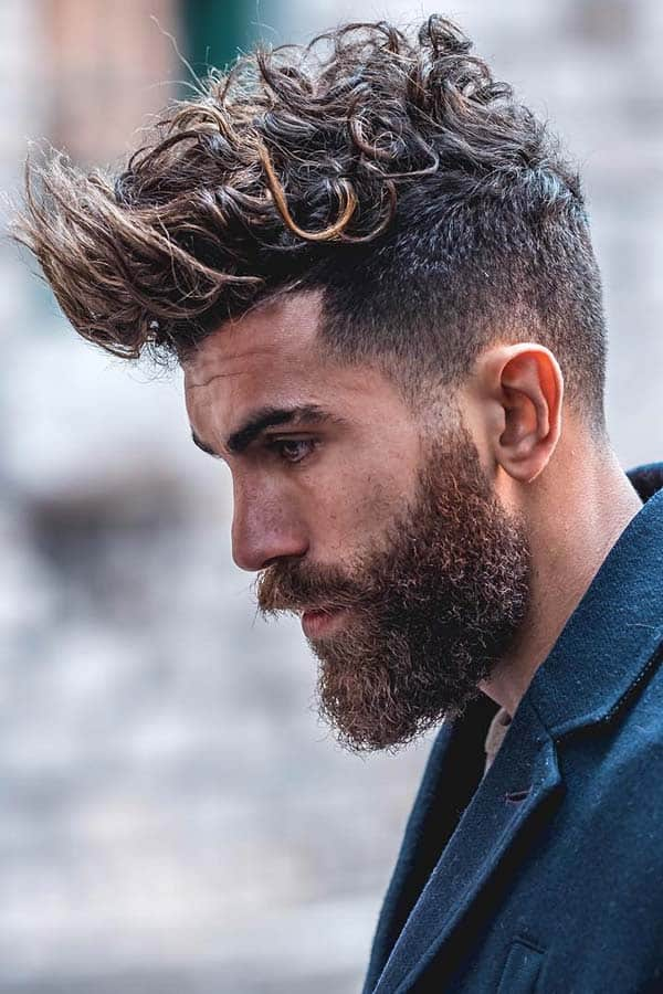 How To Style Curly Hair #quiff #curlyquiff #curlyhair #curlyhairmen