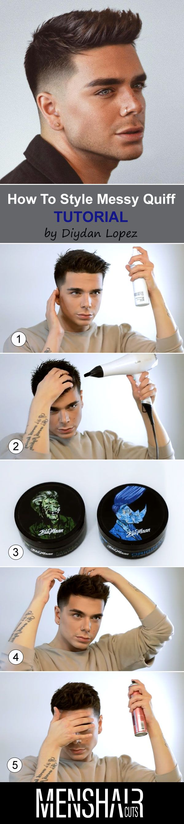 Quiff Hairstyle Ideas A Comprehensive Guide