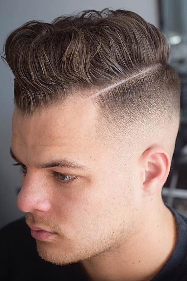 Undercut With Hard Part #sidepart #sideparthaircut