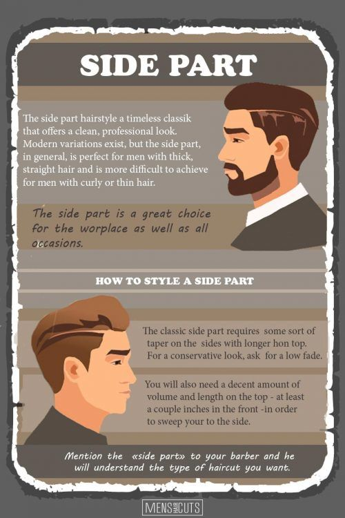 The Side Part Haircut: Exceptional Style Detail For True Gentlemen