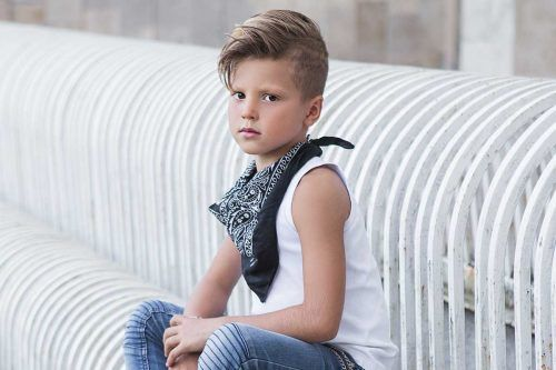 50 + The Coolest Boys Haircuts That Will Show Off Your Kid's Good Taste
